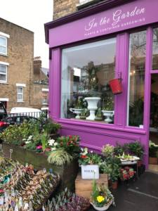 New plant shop in West Hampstead, London